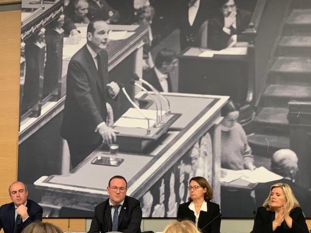 Réunion de groupe LR à l'Assemblée nationale
