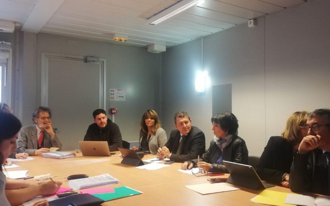 Deux Ardéchois à Paris, pour la réunion du groupe d'études sur la maladie de Lyme