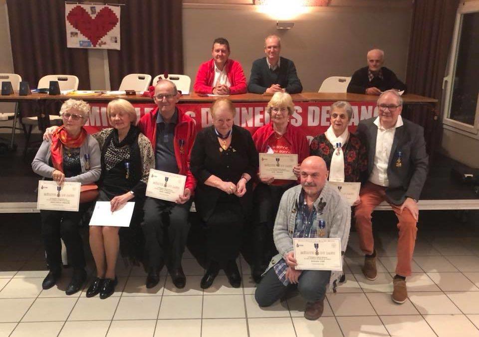 Assemblée générale de l'Amicale des Donneurs de sang d'Aubenas et sa région