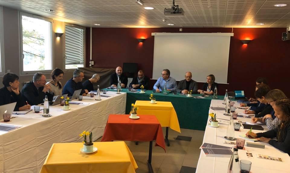 Campus des métiers de la Gastronomie : réunion de suivi à Largentière