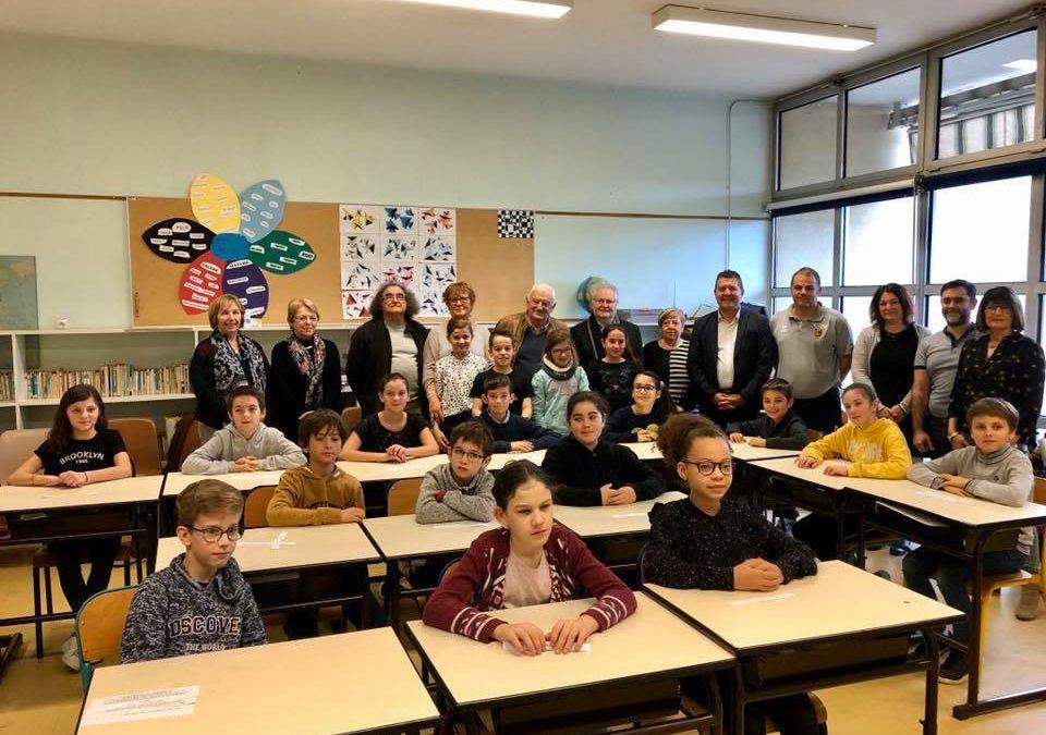 Parlement des enfants à l'école Jean Moulin de Ruoms