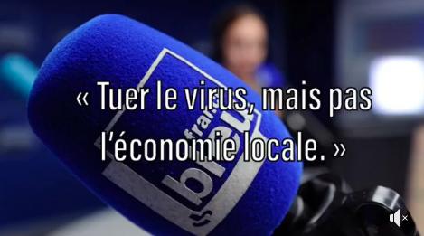 Coronavirus : « Tuer le virus, mais pas l'économie locale. »