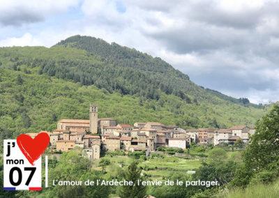 Antraigues village