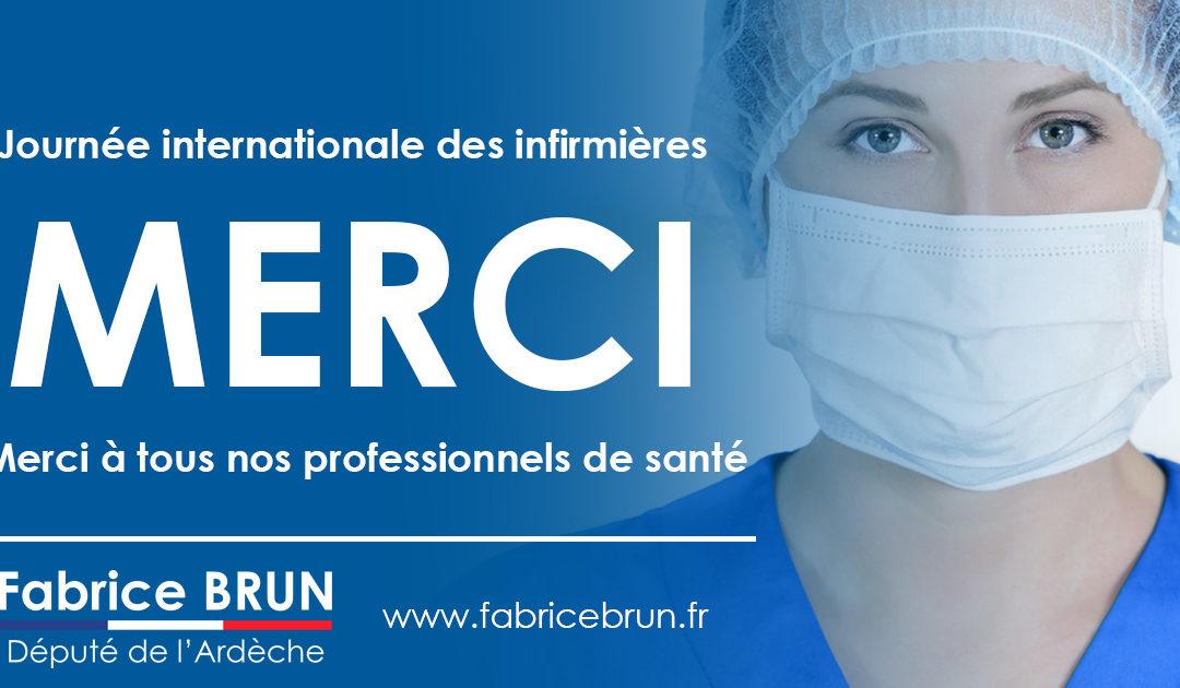 Journée internationale des infirmières et des infirmiers.