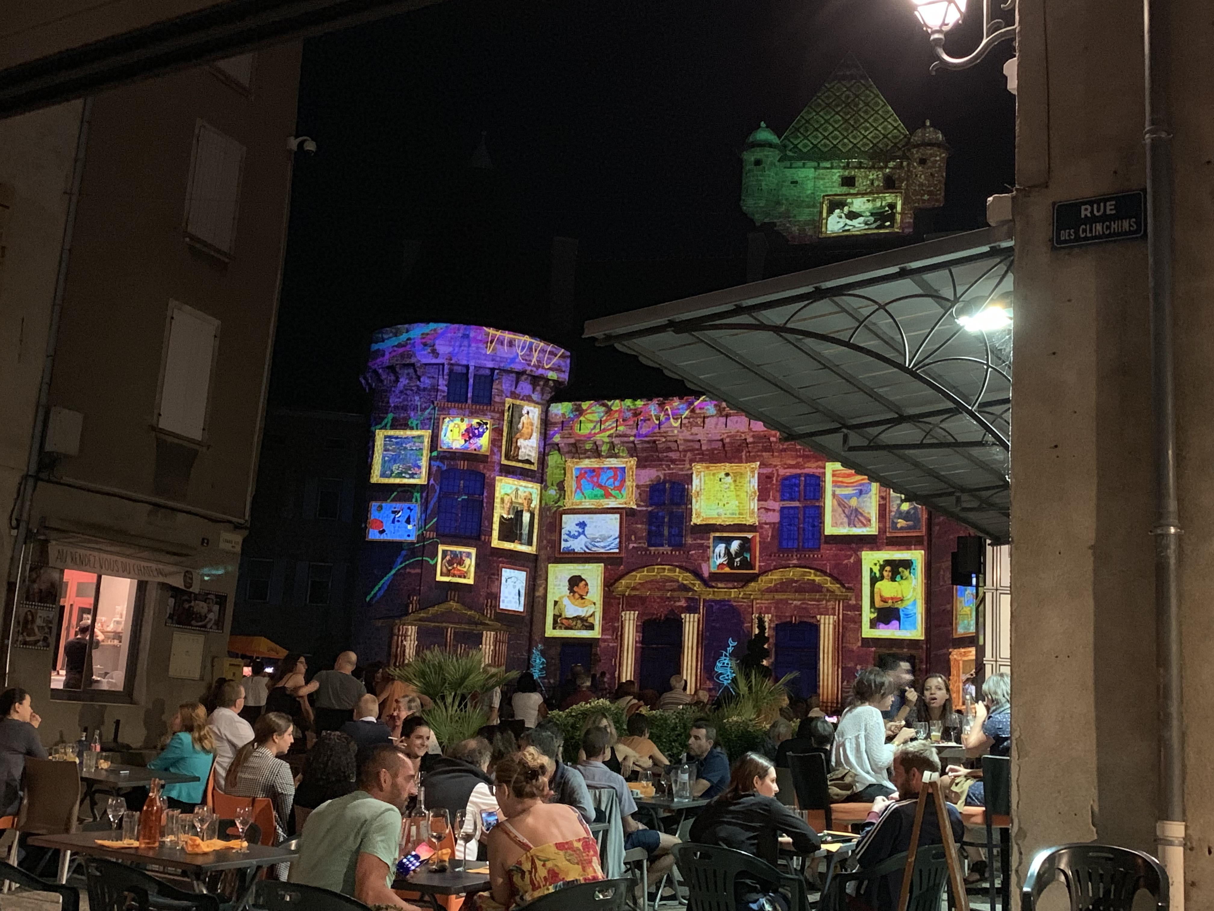 Réouverture des bars et restaurants.