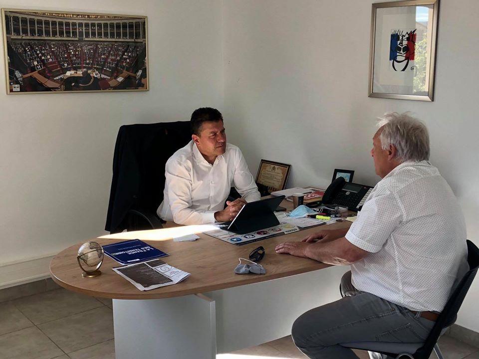 Echanges avec Patrick Coudene, président du syndicat Ardèche Energies – SDE 07.