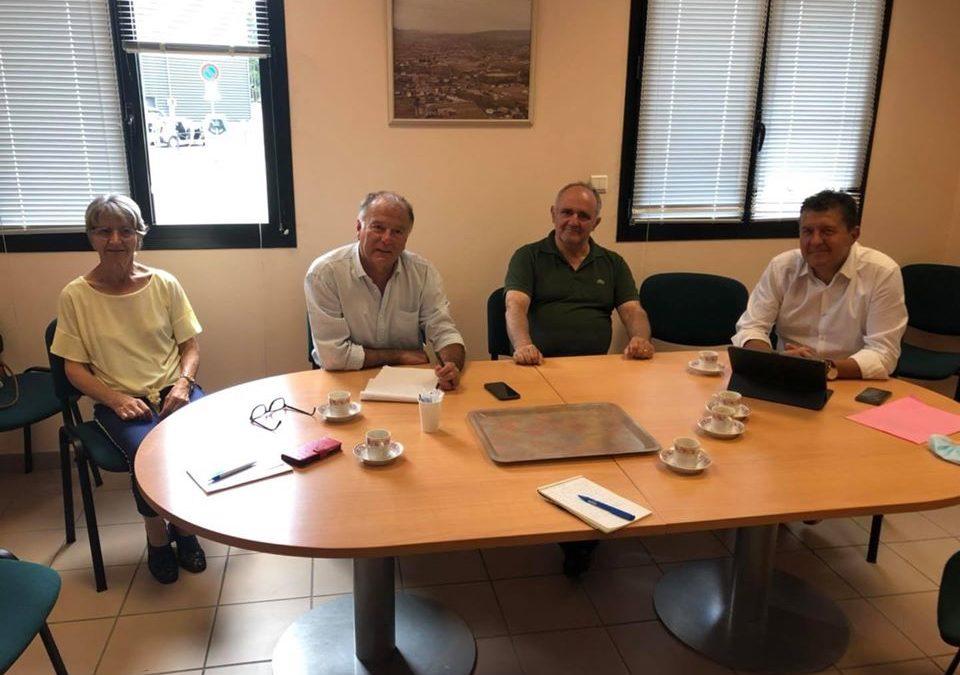 Rencontre avec Philippe Roux, nouveau maire de Saint-Etienne de Fontbellon.