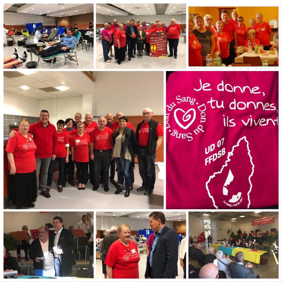 Journée mondiale des donneurs de sang.