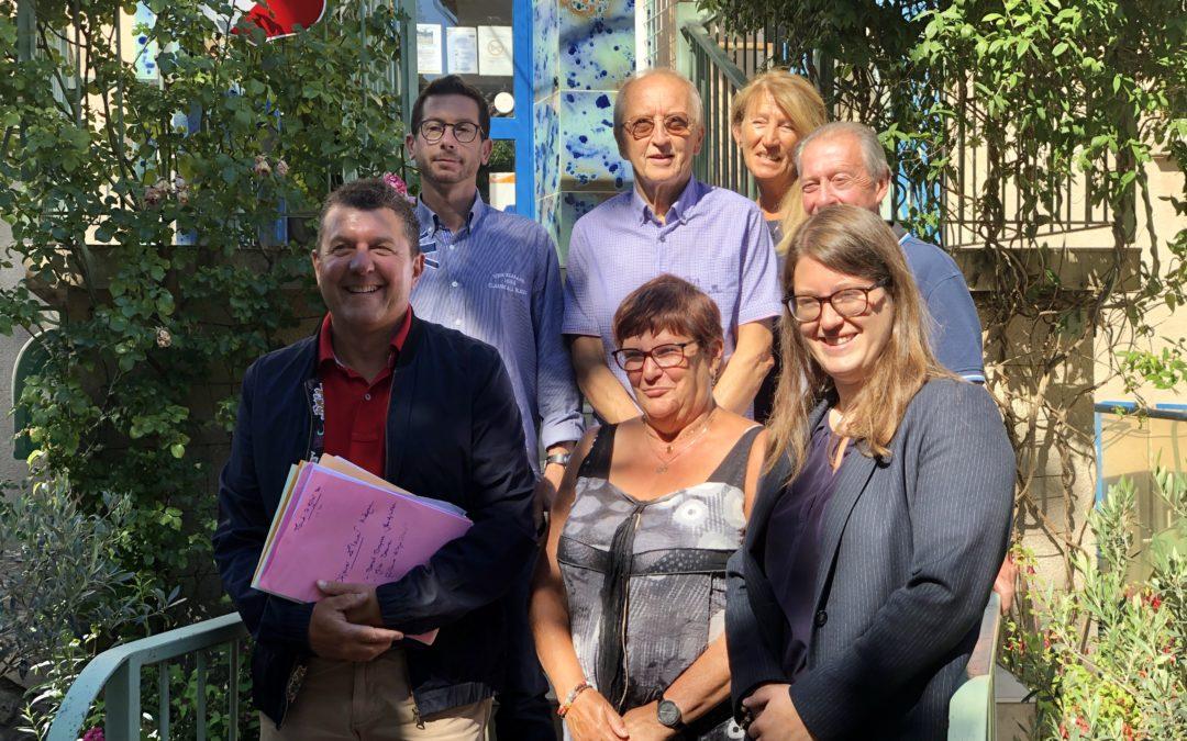 A la rencontre des nouveaux maires de Jaujac et Lalevade.
