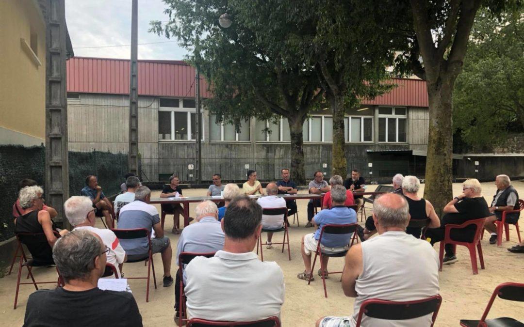 Assemblée générale des Boulistes Albenassiens.