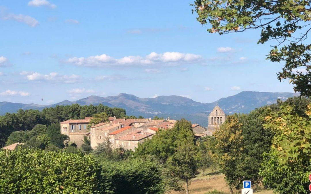 Fons, Uzer, Chazeaux, Lentilleres, Ailhon. Cinq nouvelles étapes de mon tour d'Ardèche des nouvelles municipalités.
