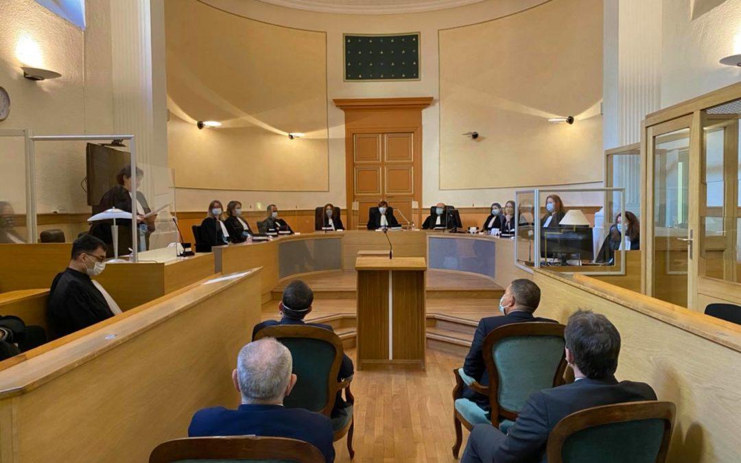 Séance solennelle du Tribunal Judiciaire de Privas.