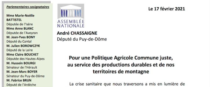 Politique Agricole Commune : Unis pour notre élevage de montagne
