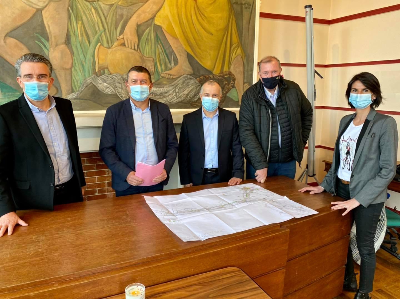 Rencontre de travail avec M. Gilles DUFFOUR, nouveau directeur du Centre Hospitalier d'Ardèche Méridionale.