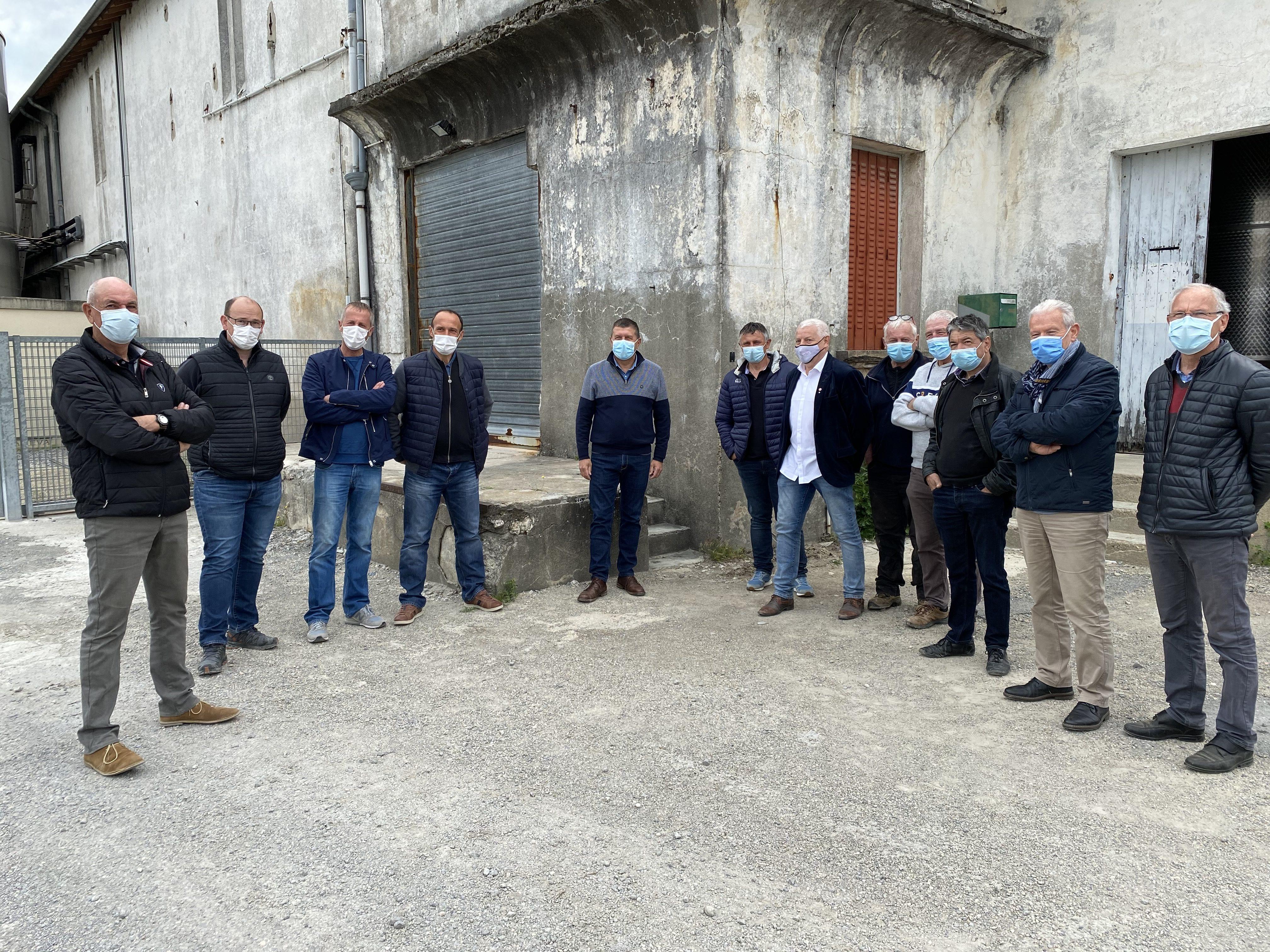 Sur le terrain, à la rencontre des viticulteurs de Grospierres, Beaulieu, Berrias et Casteljau.