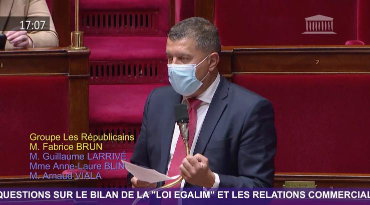 Gel & Prix Agricoles : J'interpelle le Ministre de l'Agriculture à l'Assemblée nationale.