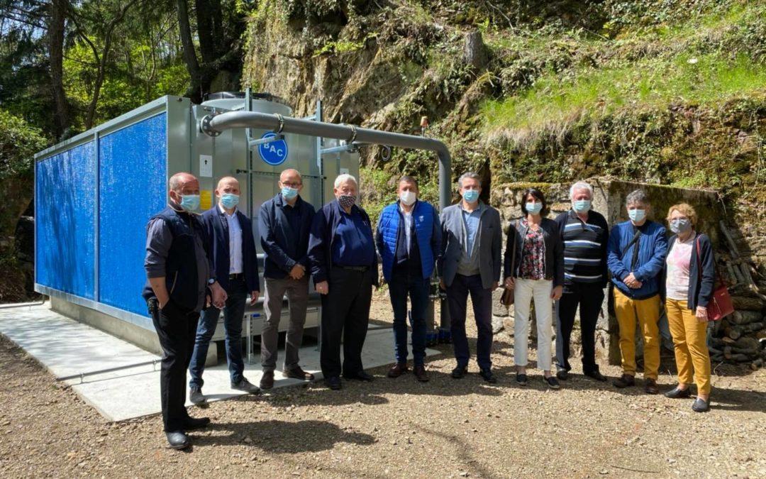 À Saint-Laurent-les-Bains, sur la Montagne ardéchoise, pour l'ouverture des thermes