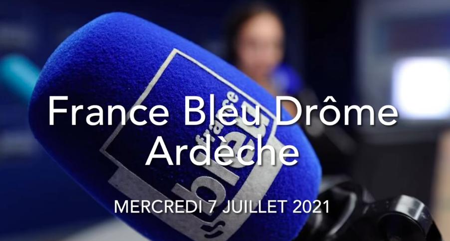 Vaccination Covid-19 : Interview France Bleu Drôme-Ardèche.