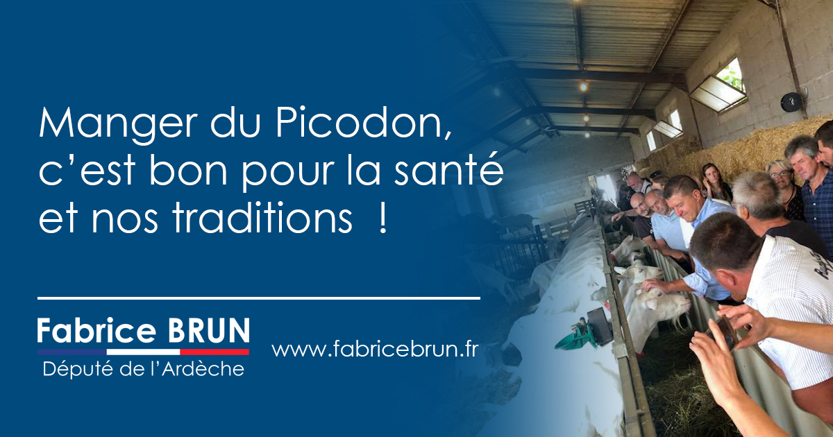 Nutriscore : je défends les vertus du Picodon.