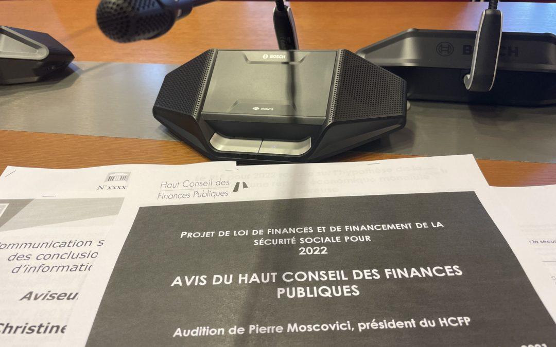 Projet de loi de finances pour 2022.