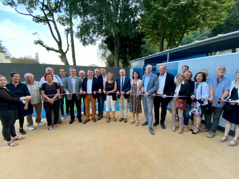 Inauguration de la crèche Les P'tits Loups à Vals-les-Bains.