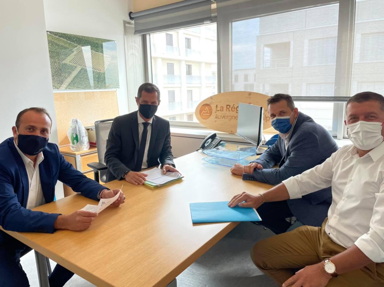 Premières réunions de commissions au conseil régional Auvergne-Rhône-Alpes.