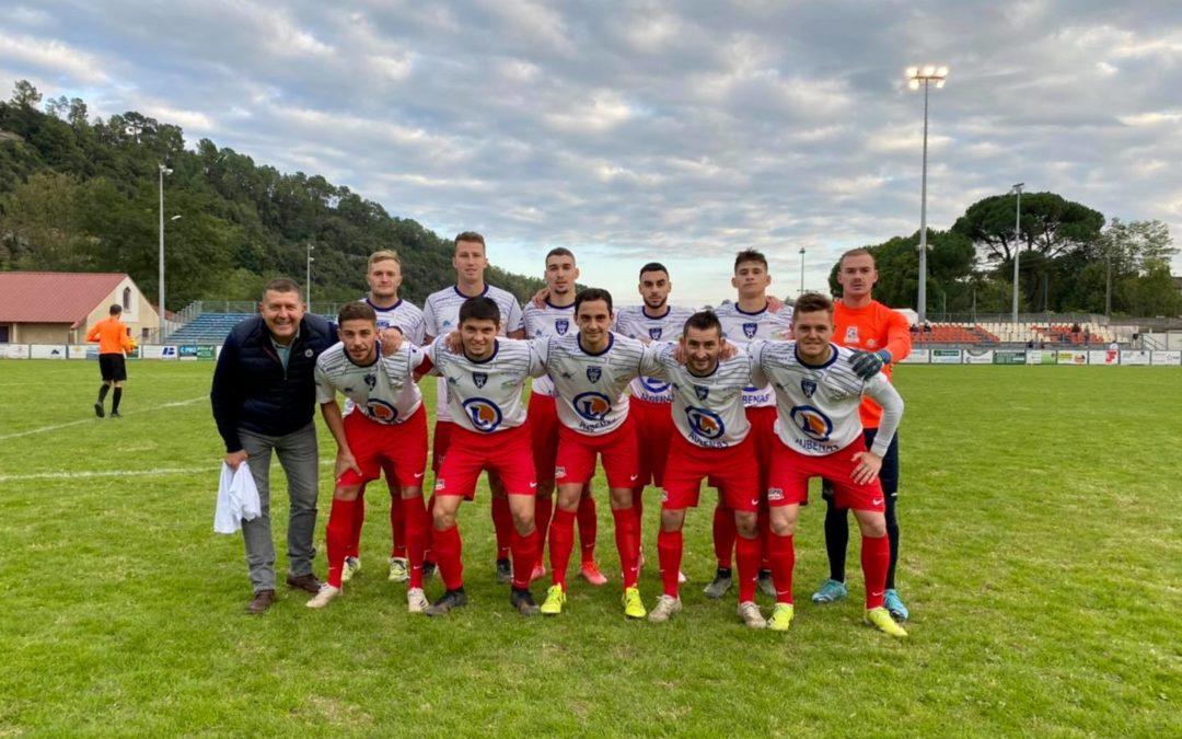 À Aubenas, pour soutenir les footballeurs de l'ASSAF.