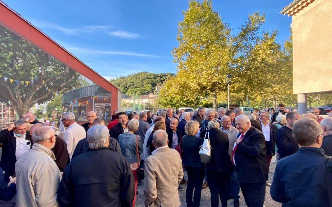 Congrès des maires ruraux 2021 à Alissas.
